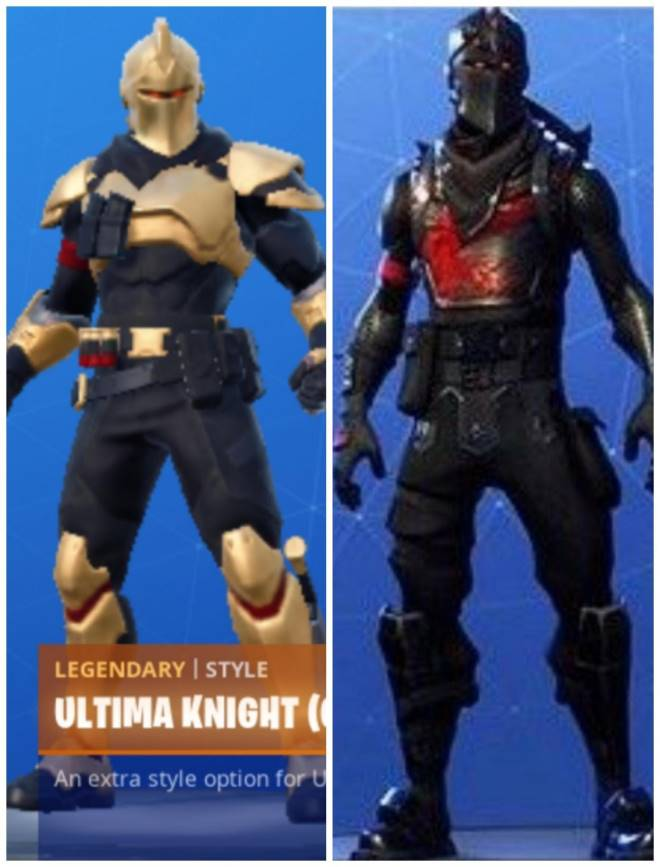 Fortnite Ultima Knight Posted By Christopher Simpson