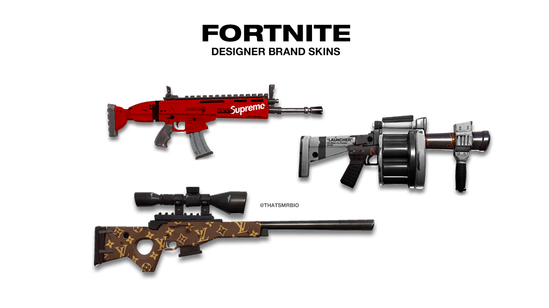 Fortnite Weapons Wallpapers Posted By Ryan Simpson