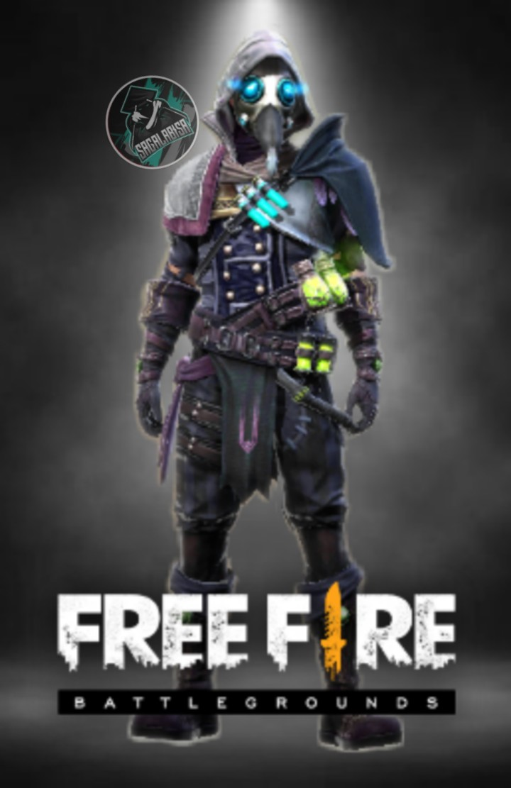 Wallpaper free fire falgue doctor bottom Sagalabisa