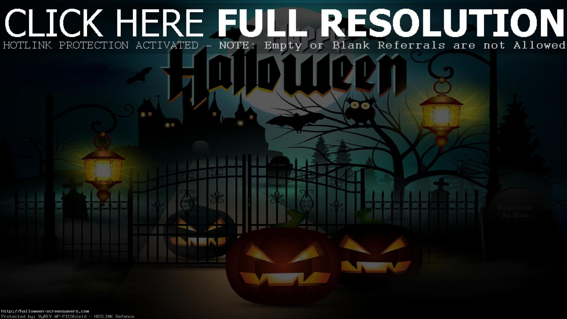 Free Halloween Wallpapers Screensavers