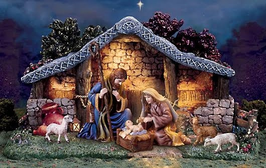 Free download Christmas Nativity Wallpapers 530x336 for