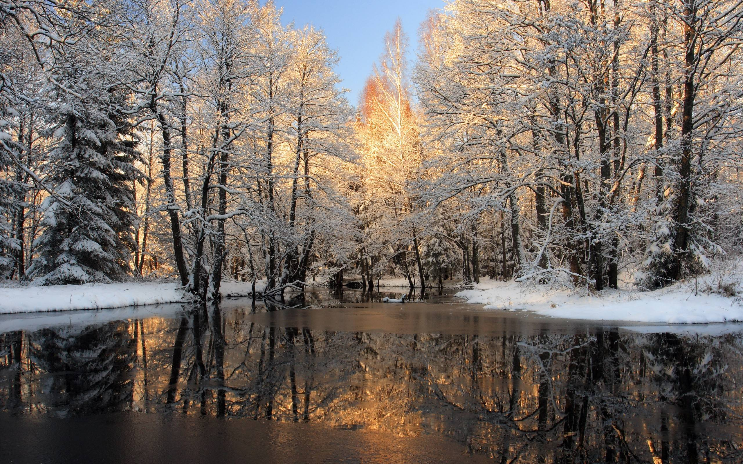 Free Winter Scenes Desktop Backgrounds Posted By Zoey Mercado
