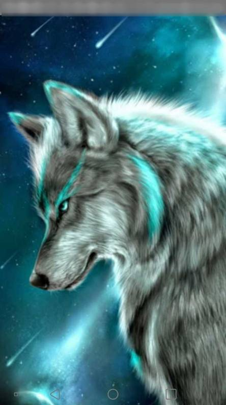 Galaxy wolf Wallpapers Free by ZEDGE tm