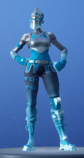 Frozen Red Knight Fortnite Wallpapers Posted By Michelle Peltier
