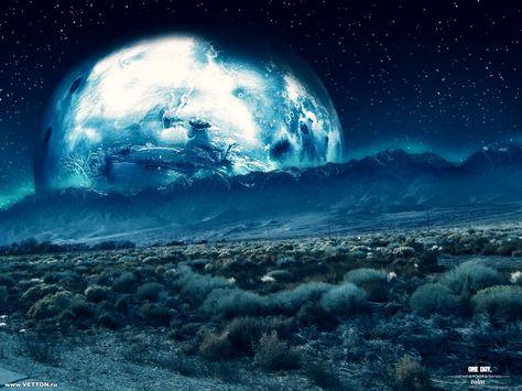 3d Planet Wallpaper