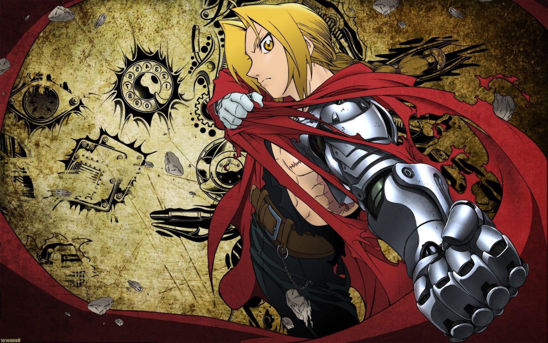 Fullmetal Alchemist Brotherhood Wallpaper Hd Posted By Ryan Thompson