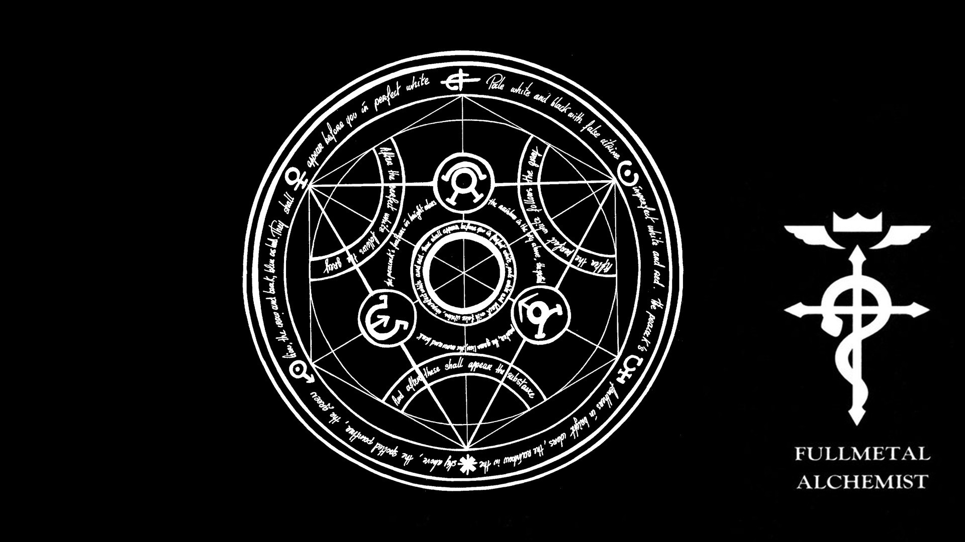 Fullmetal Alchemist Transmutation Circle Wallpaper Posted By Zoey
