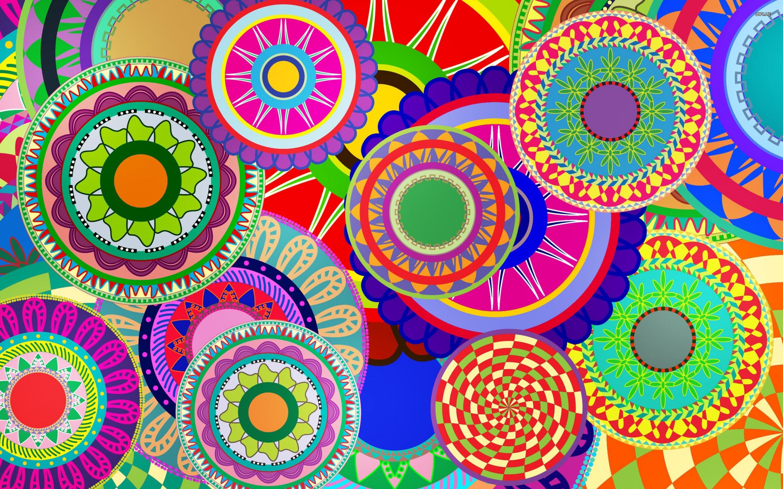 Fun Colorful Wallpaper Posted By Sarah Mercado