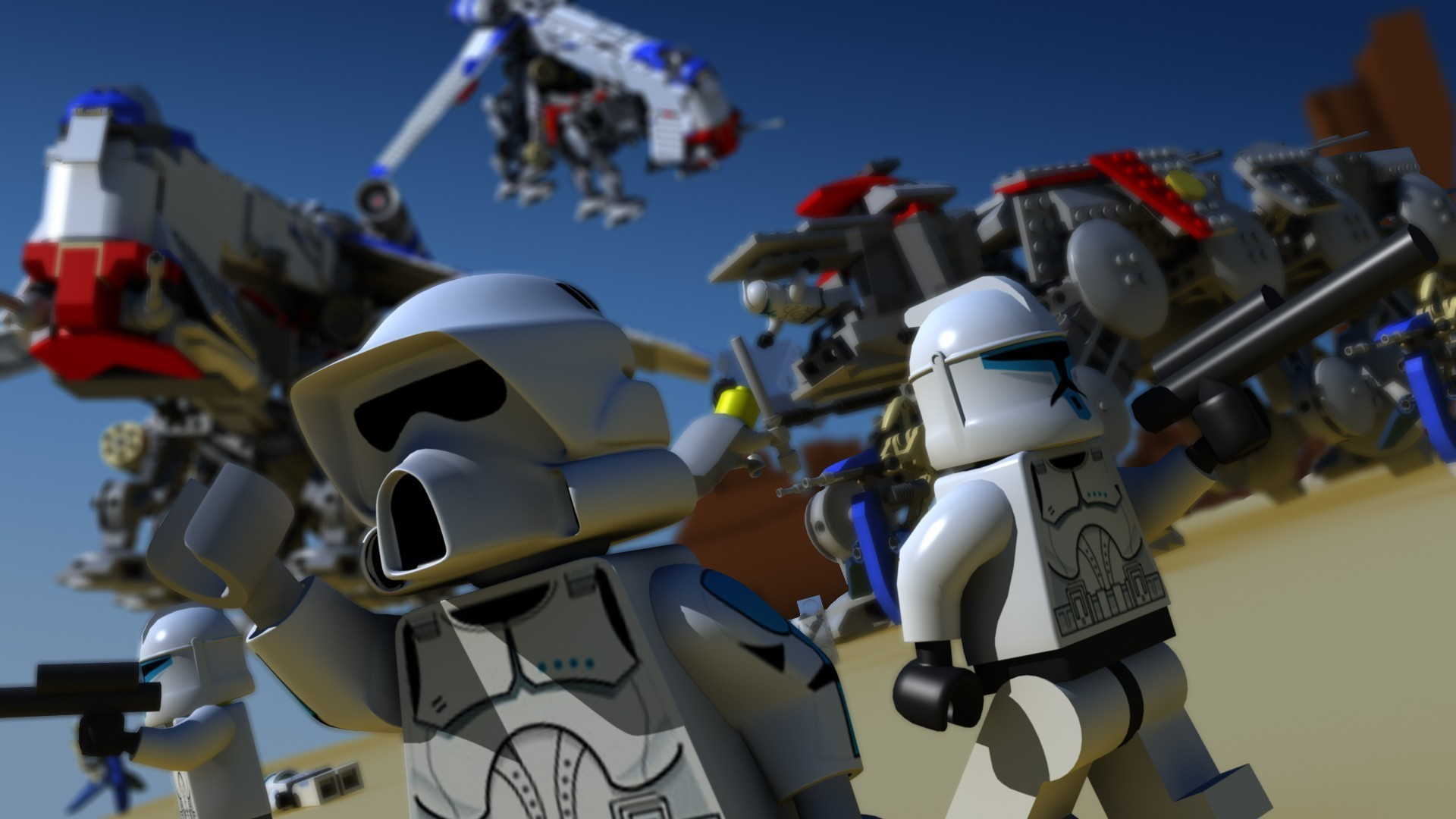 Lego Star Wars Wallpaper 69+ images