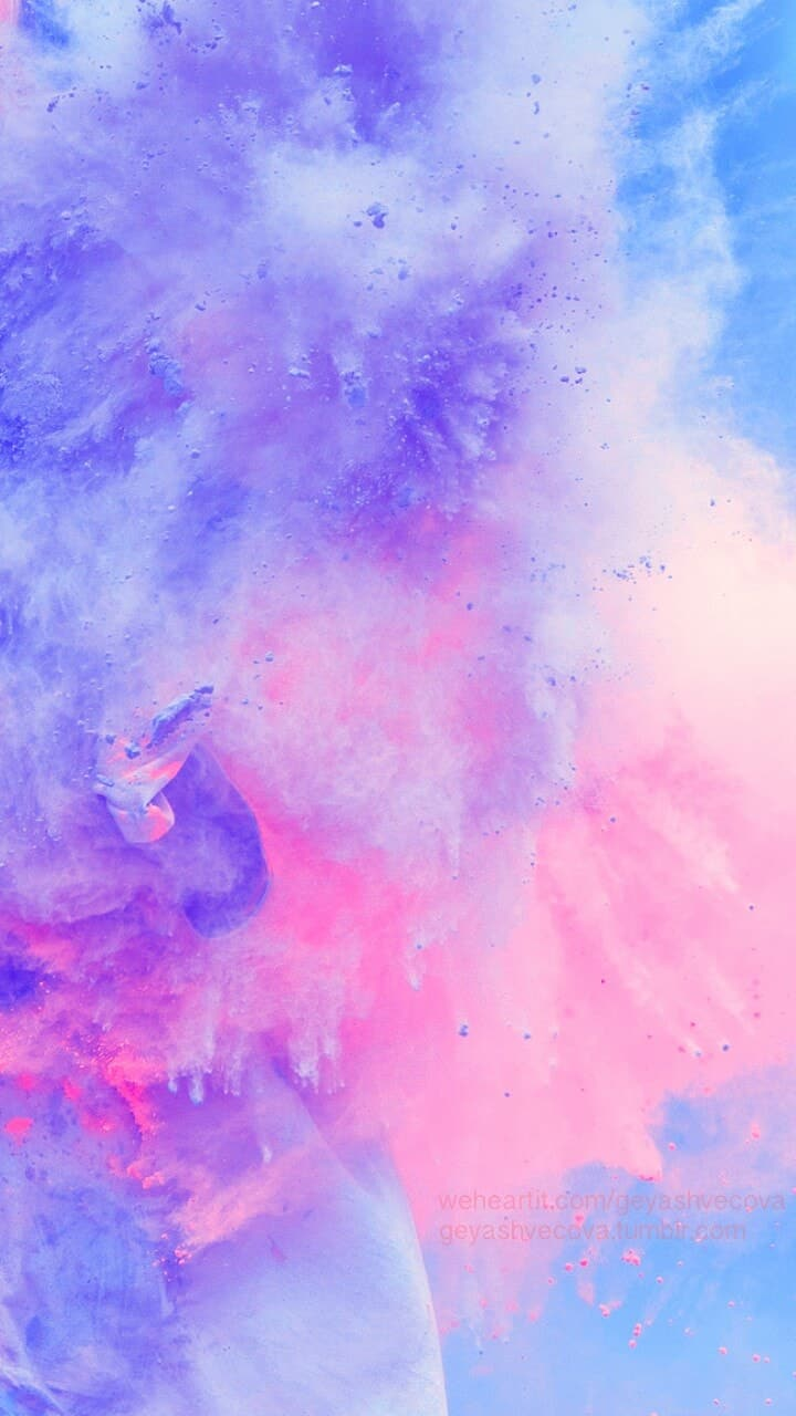 Download Watercolor Galaxy Background , High quality