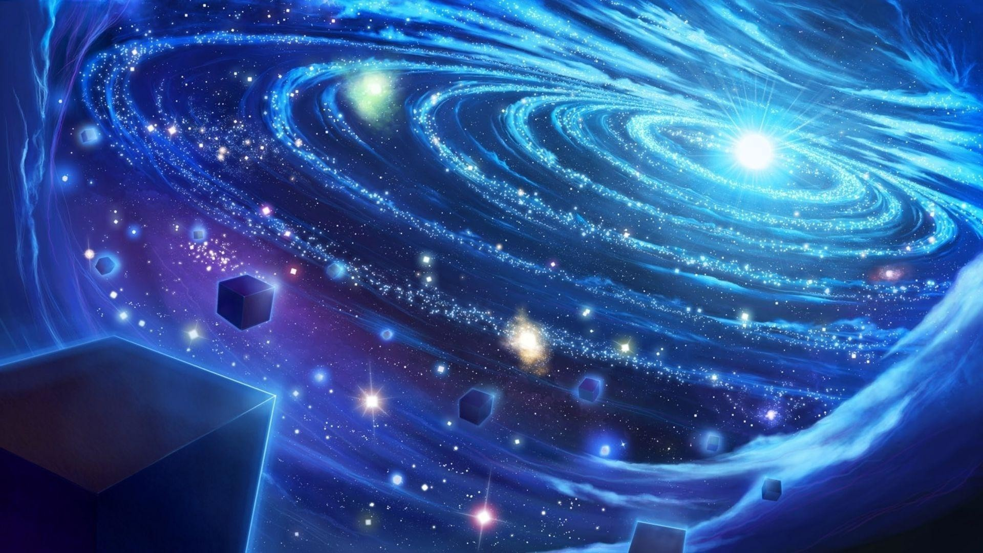 Free download 75 Blue Galaxy Wallpapers on WallpaperPlay