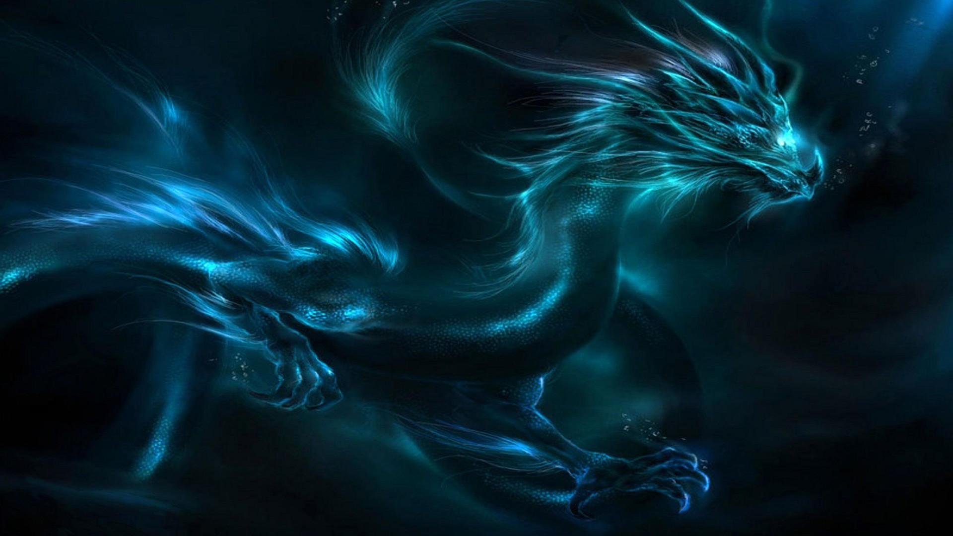 43+ Blue Dragon Wallpaper HD on WallpaperSafari