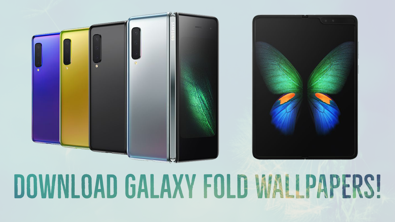 Galaxy Fold Wallpaper Posted By Michelle Peltier