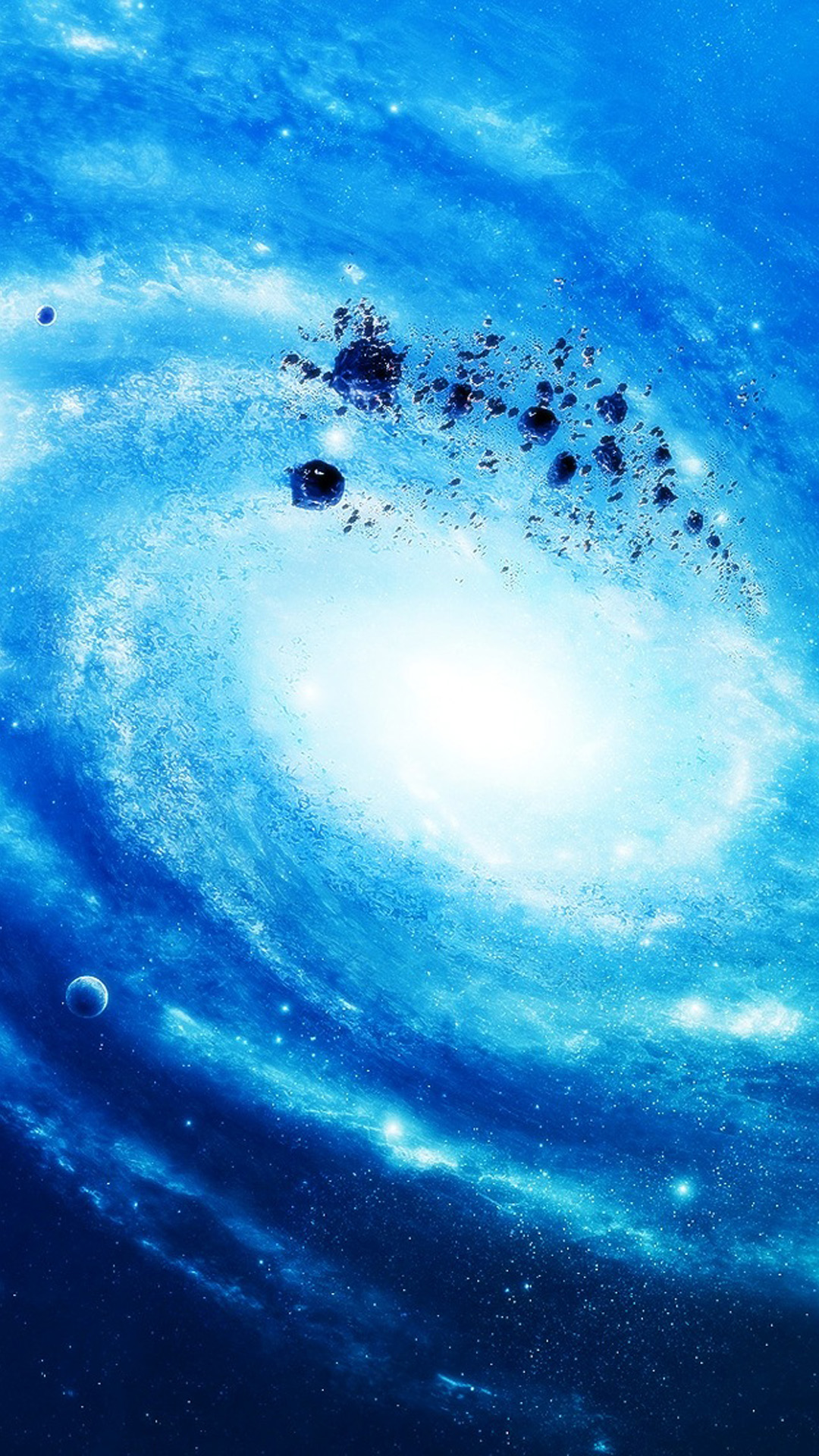 Blue Galaxy Wallpaper Iphone 7, Hd Wallpapers and backgrounds