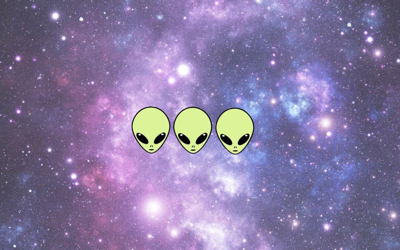 Aesthetic Alien Desktop Wallpapers Top Free Aesthetic