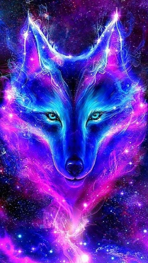 Galaxy Wolf Live Wallpapers Wolf Wallpapers.Pro