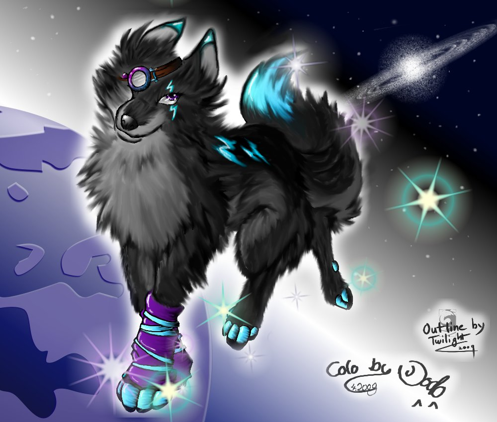 Free download Galaxy Wolf Drakengrad 1000x850 for your