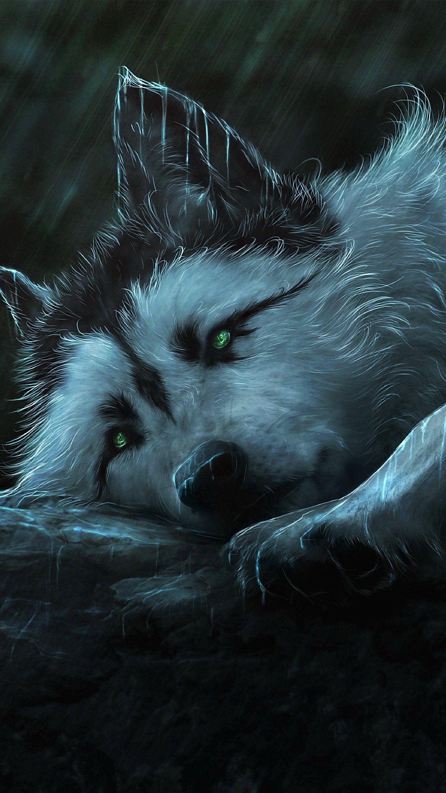 Pin by Lyrkanea on Wolf Art Wolf wallpaper, Galaxy wolf