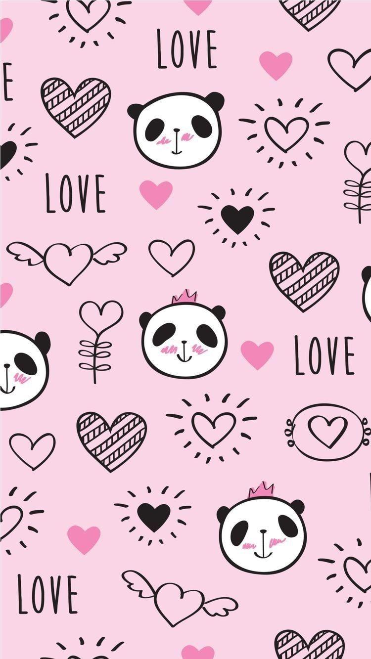 Cute wallpaper in 2019 Cute panda wallpaper, Panda