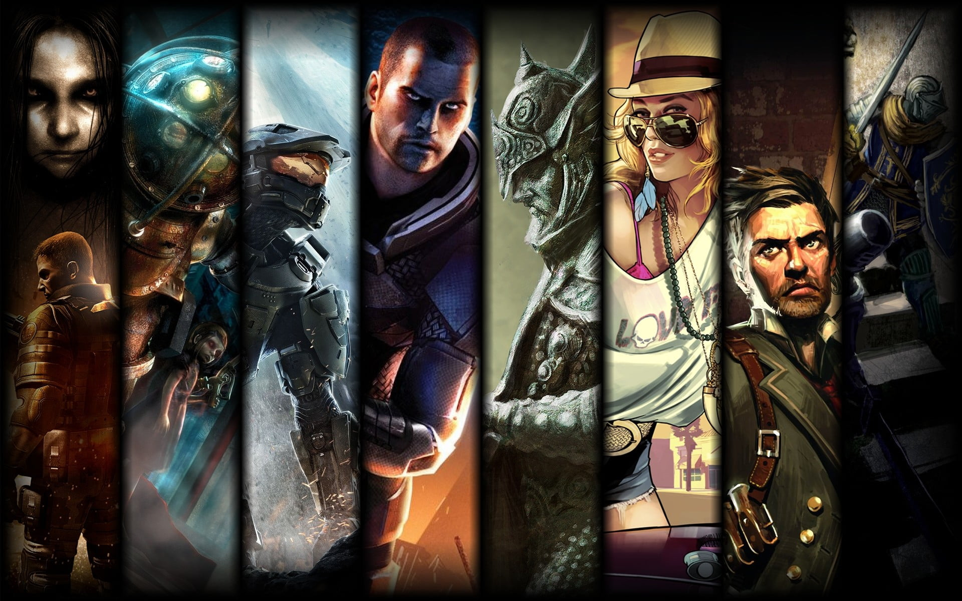 Game Collage Wallpaper Posted By Michelle Johnson