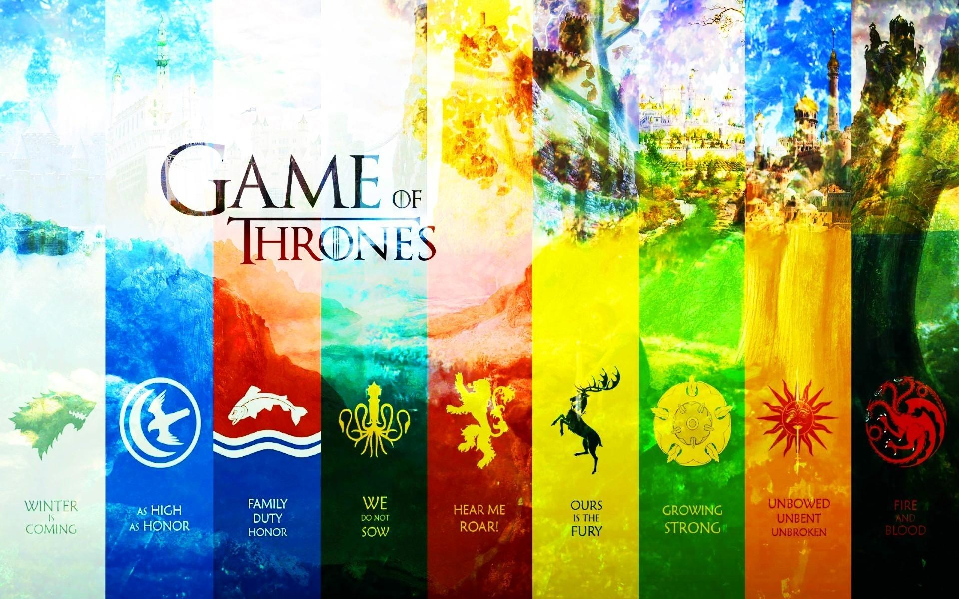 Game Of Thrones Houses Wallpaper Posted By John Cunningham