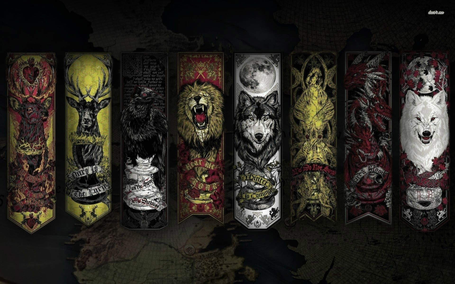 Game Of Thrones Houses Wallpapers Posted By Michelle Tremblay