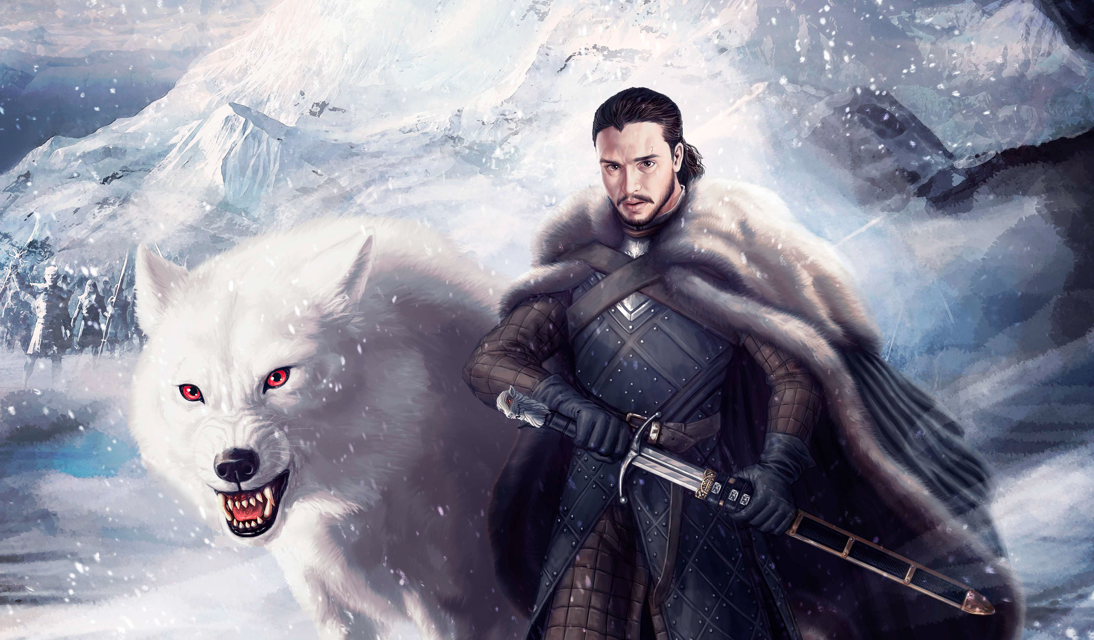 Game Of Thrones Jon Snow Wallpaper Posted By Samantha Peltier
