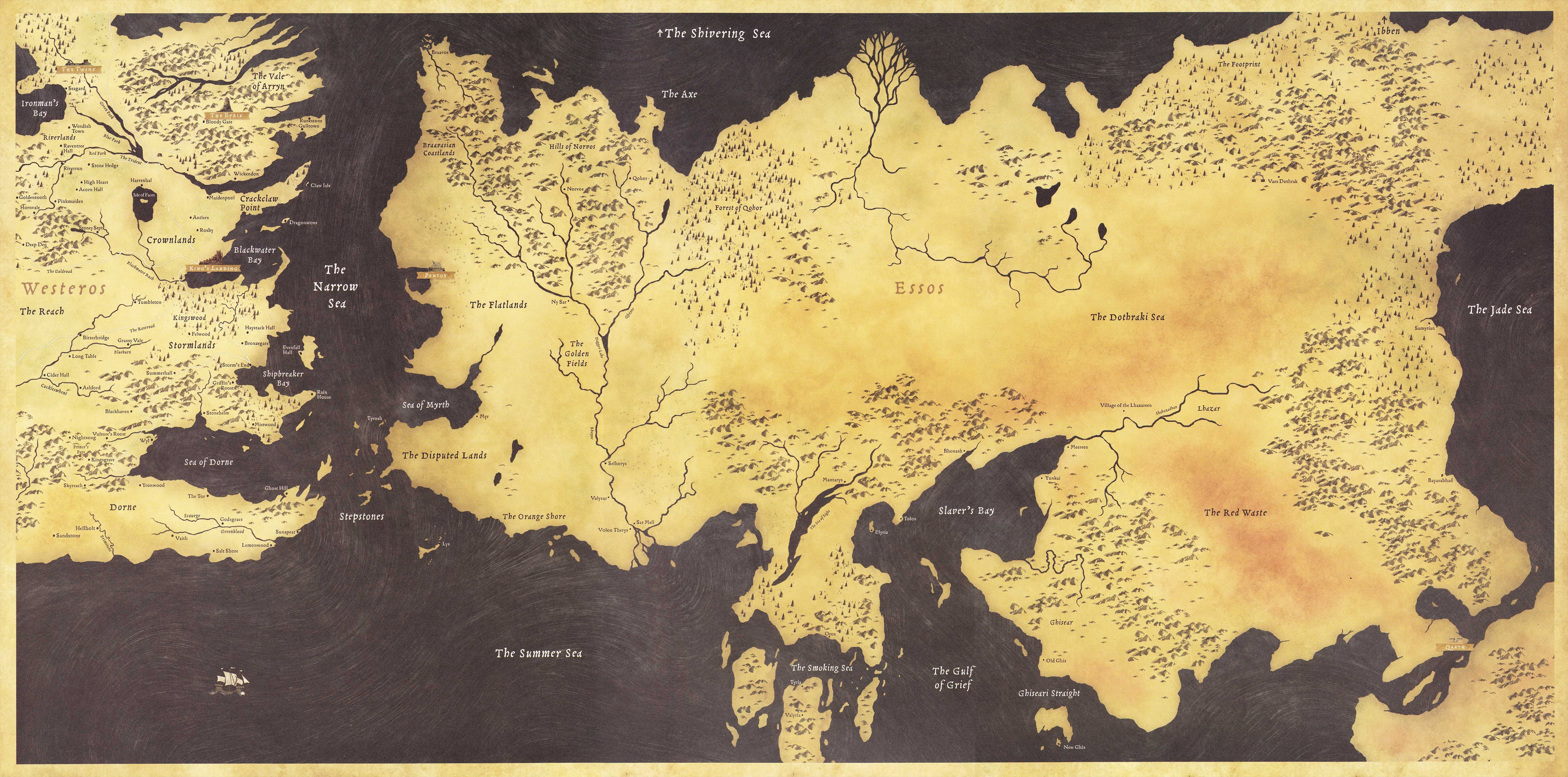 Game Of Thrones Map Wallpaper 1920x1080 Posted By Zoey Johnson