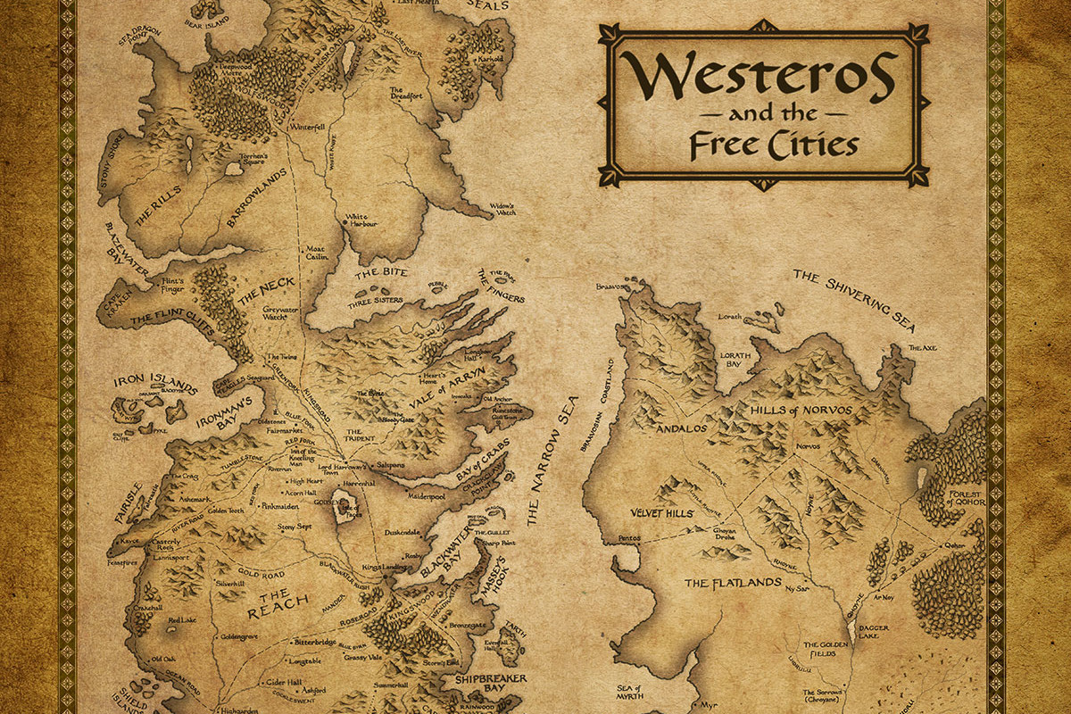 Game Of Thrones Maps Wallpapers Posted By Samantha Mercado