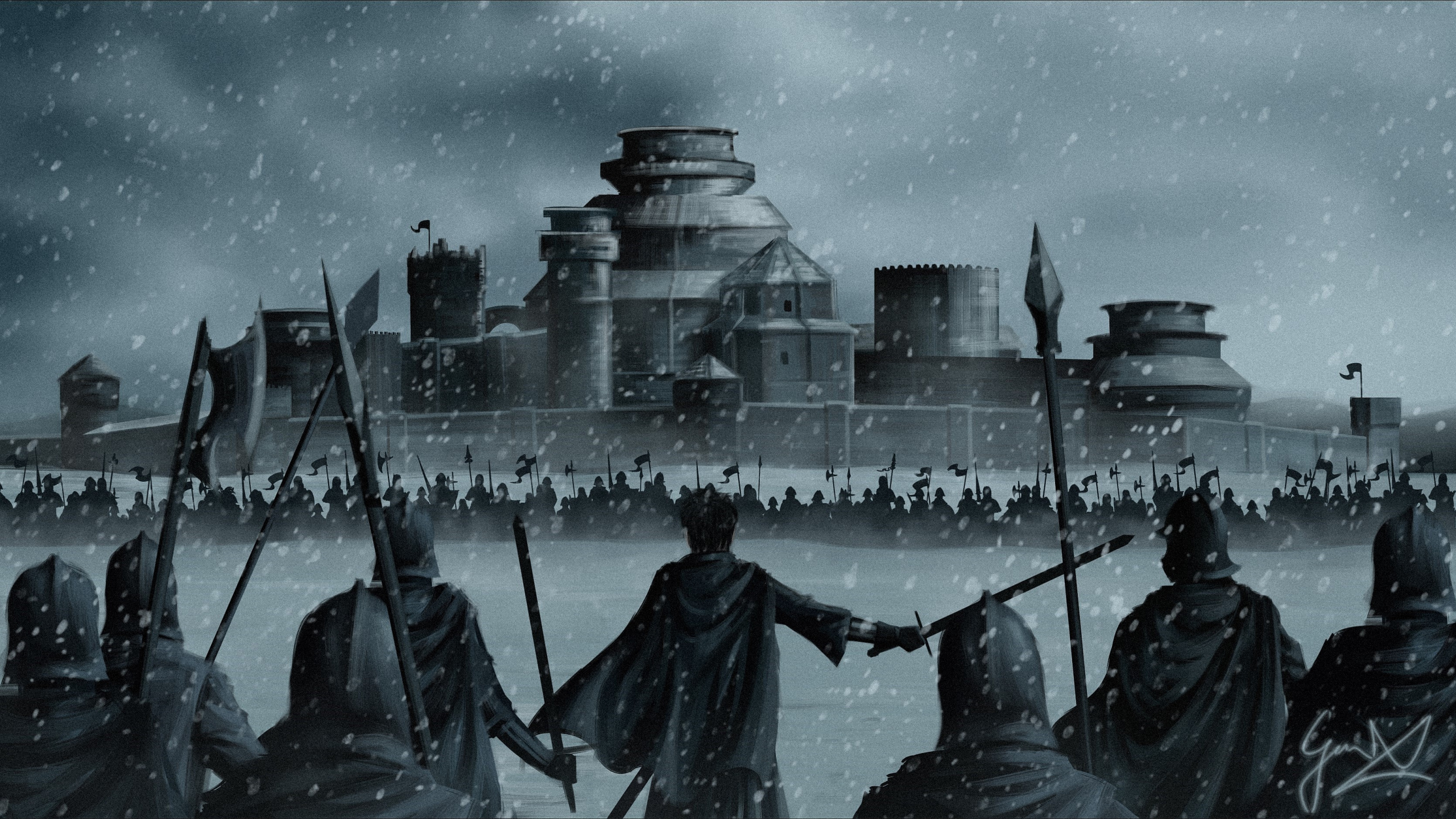 Game Of Thrones Wallpaper 2560x1440 Posted By Ryan Thompson