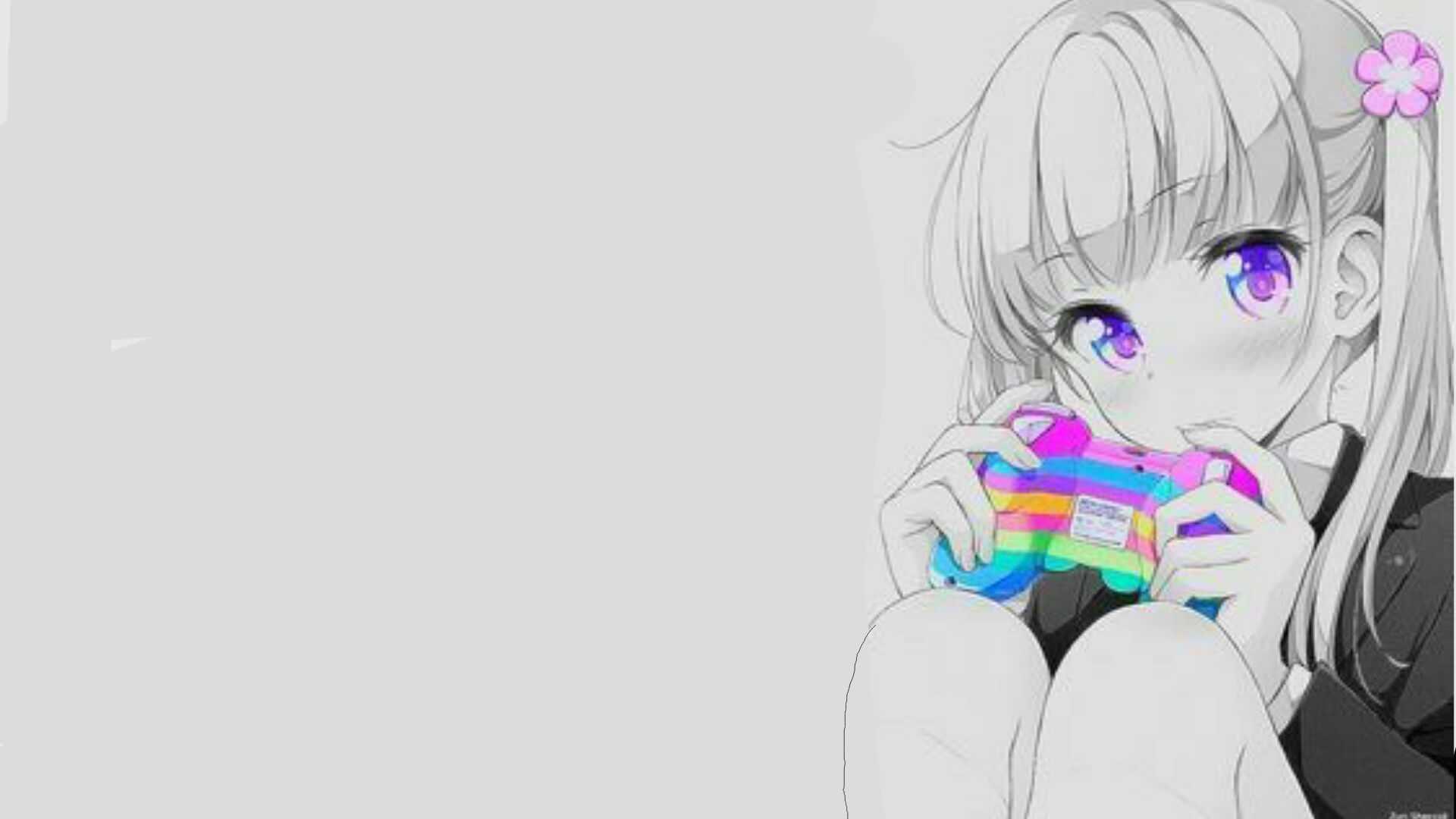 Slightly Edited anime gamer girl. Album on Imgur
