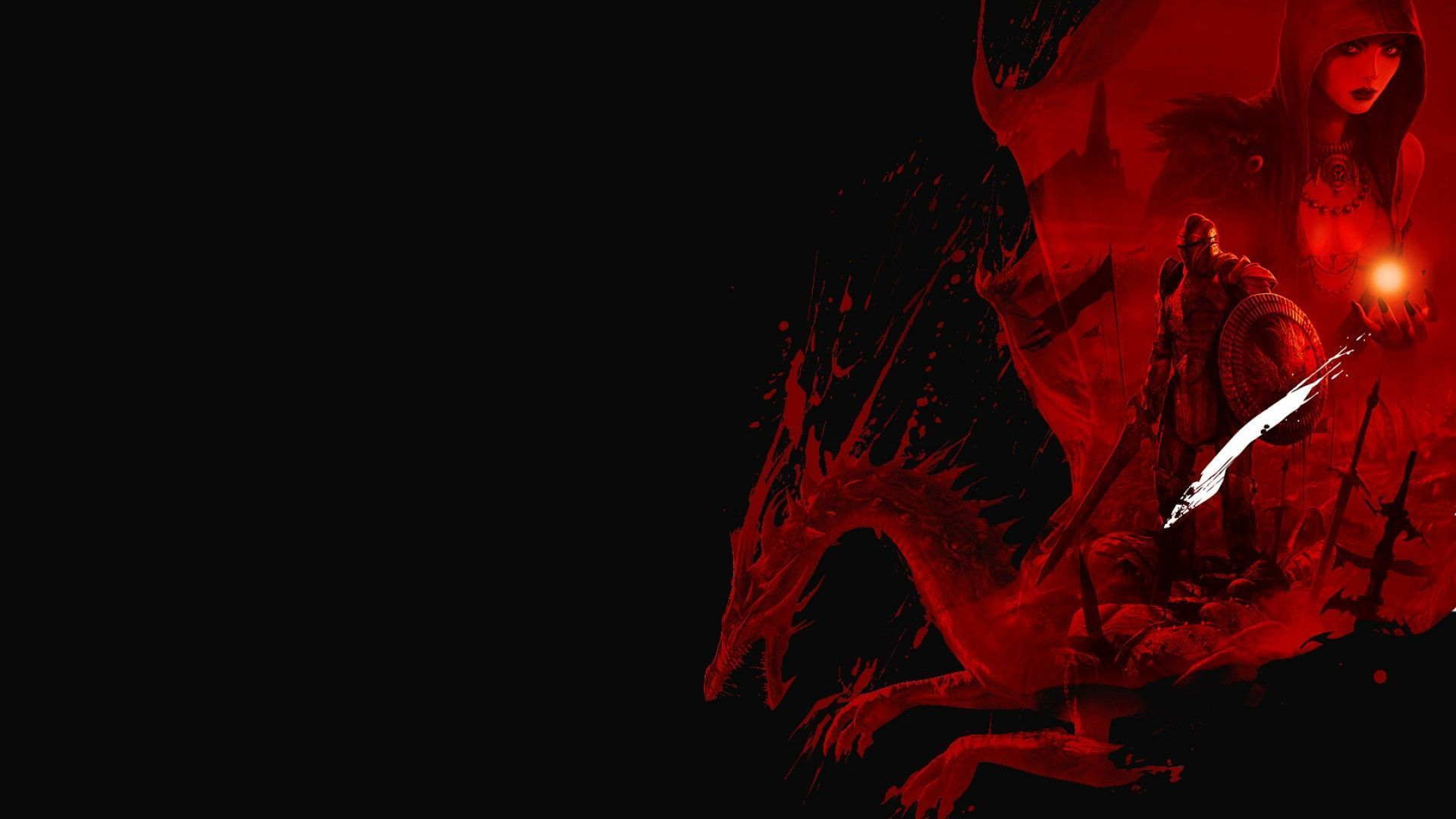1920x1080 Wallpaper Red And Black Hd Red Gaming Wallpapers