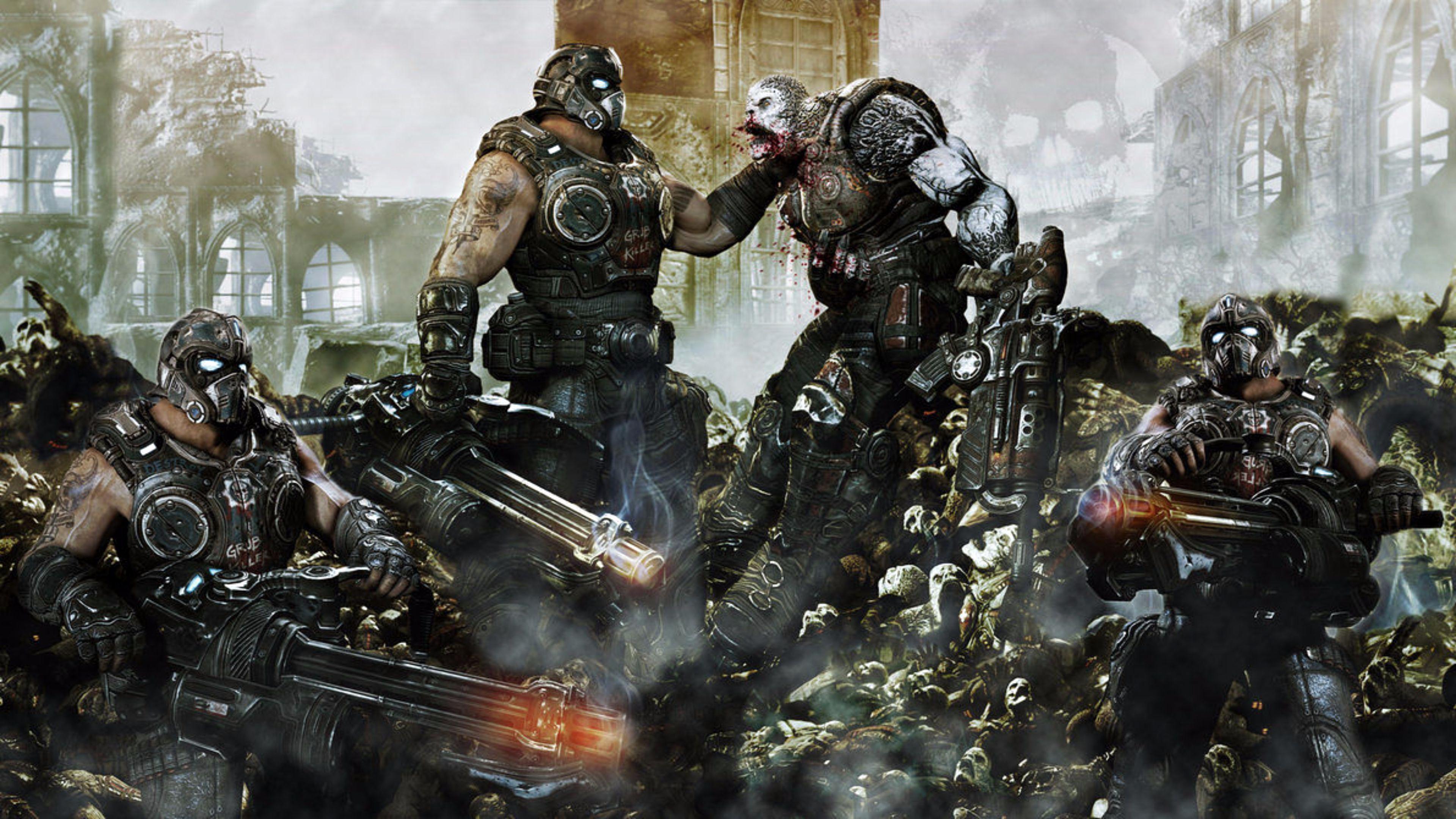 Gears Of War Hd Wallpaper Posted By John Johnson