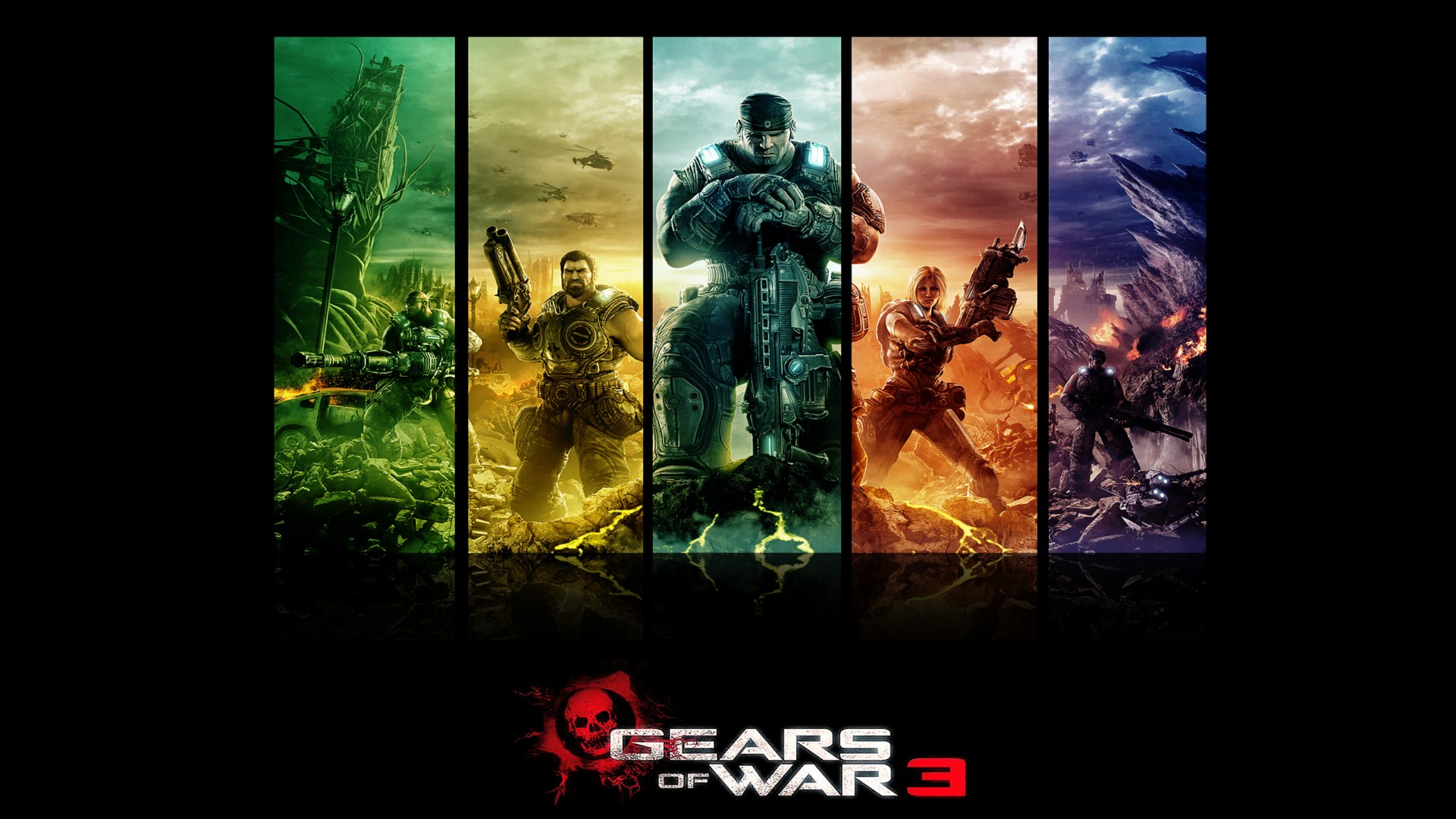 Gears Of War Wallpaper 1920x1080 Posted By Ryan Thompson