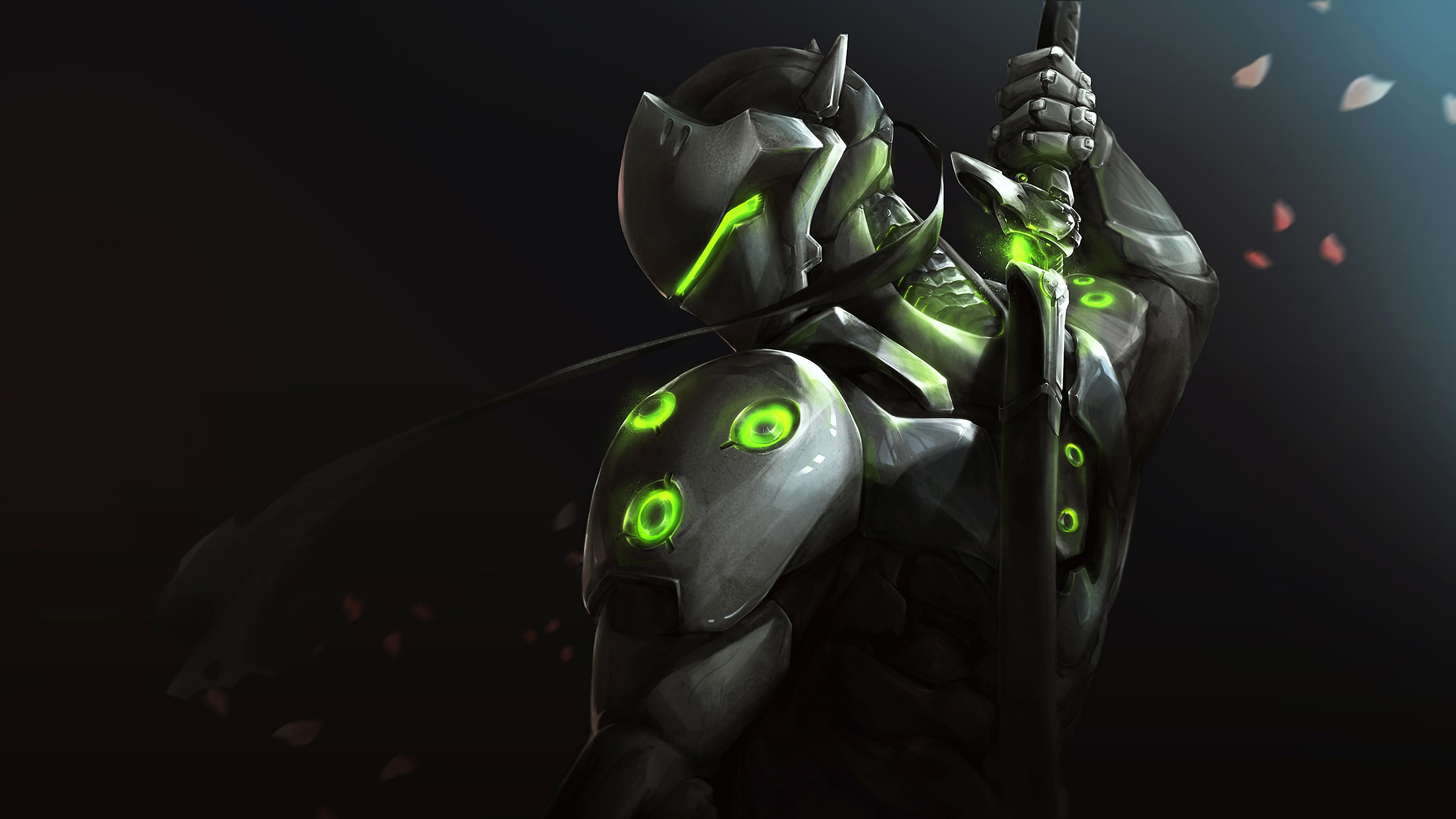 genji Overwatch Hd Wallpaper Genji 4k, Download Wallpapers