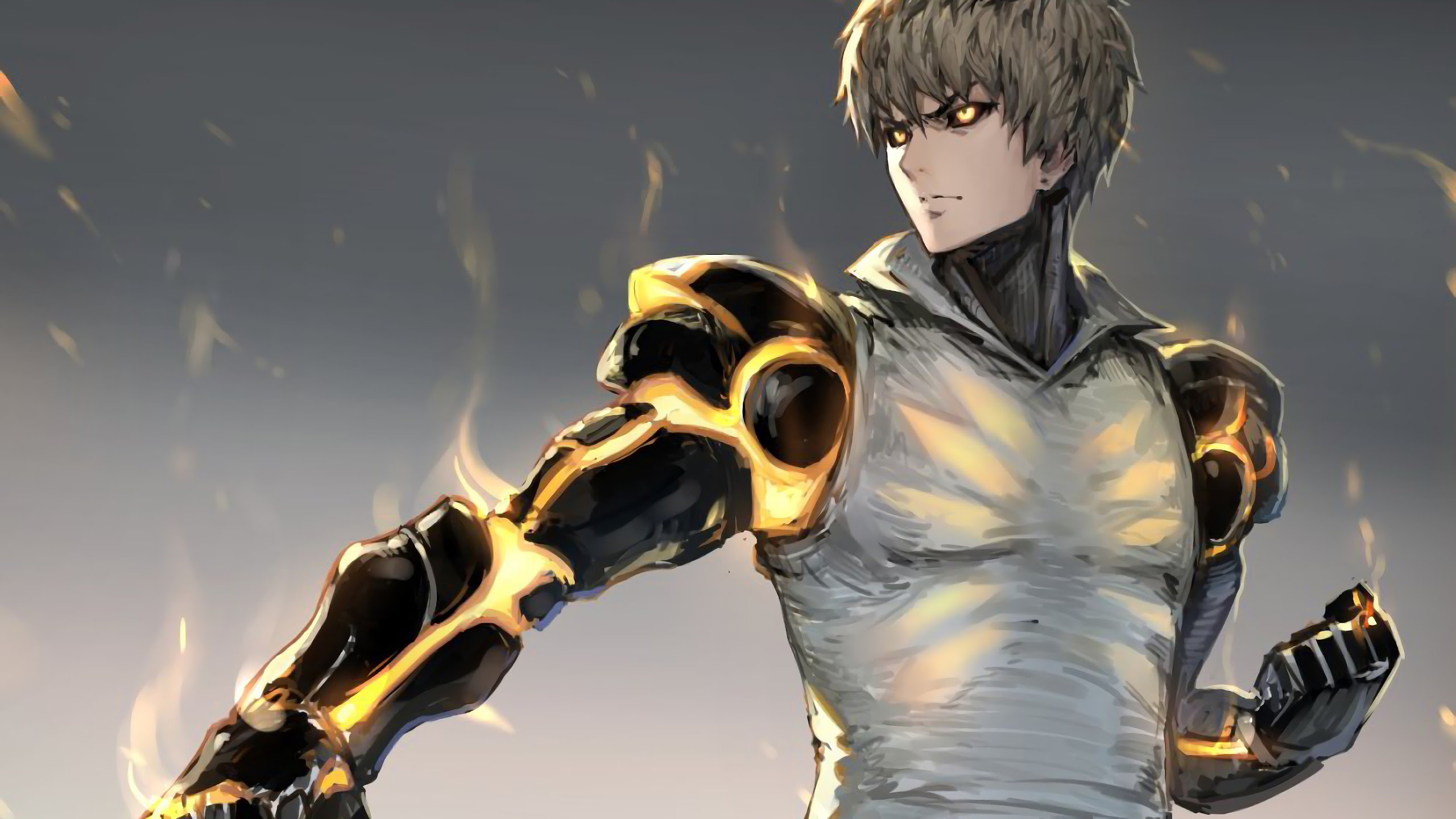 Genos One Punch Man Wallpaper Posted By Ethan Mercado
