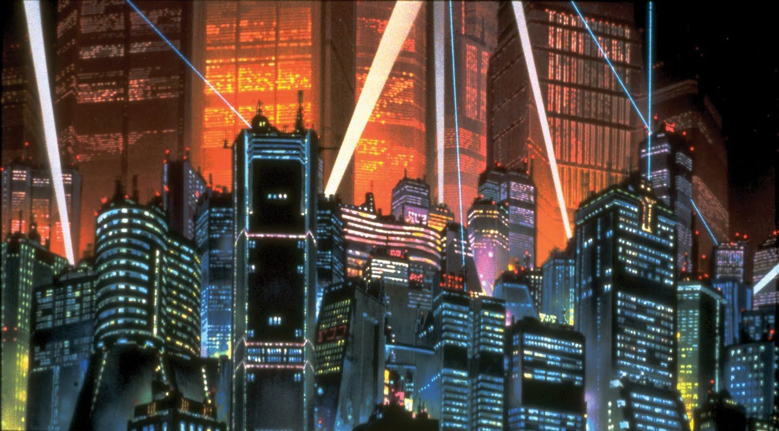 Ghost In The Shell City Wallpaper Posted By Ryan Anderson