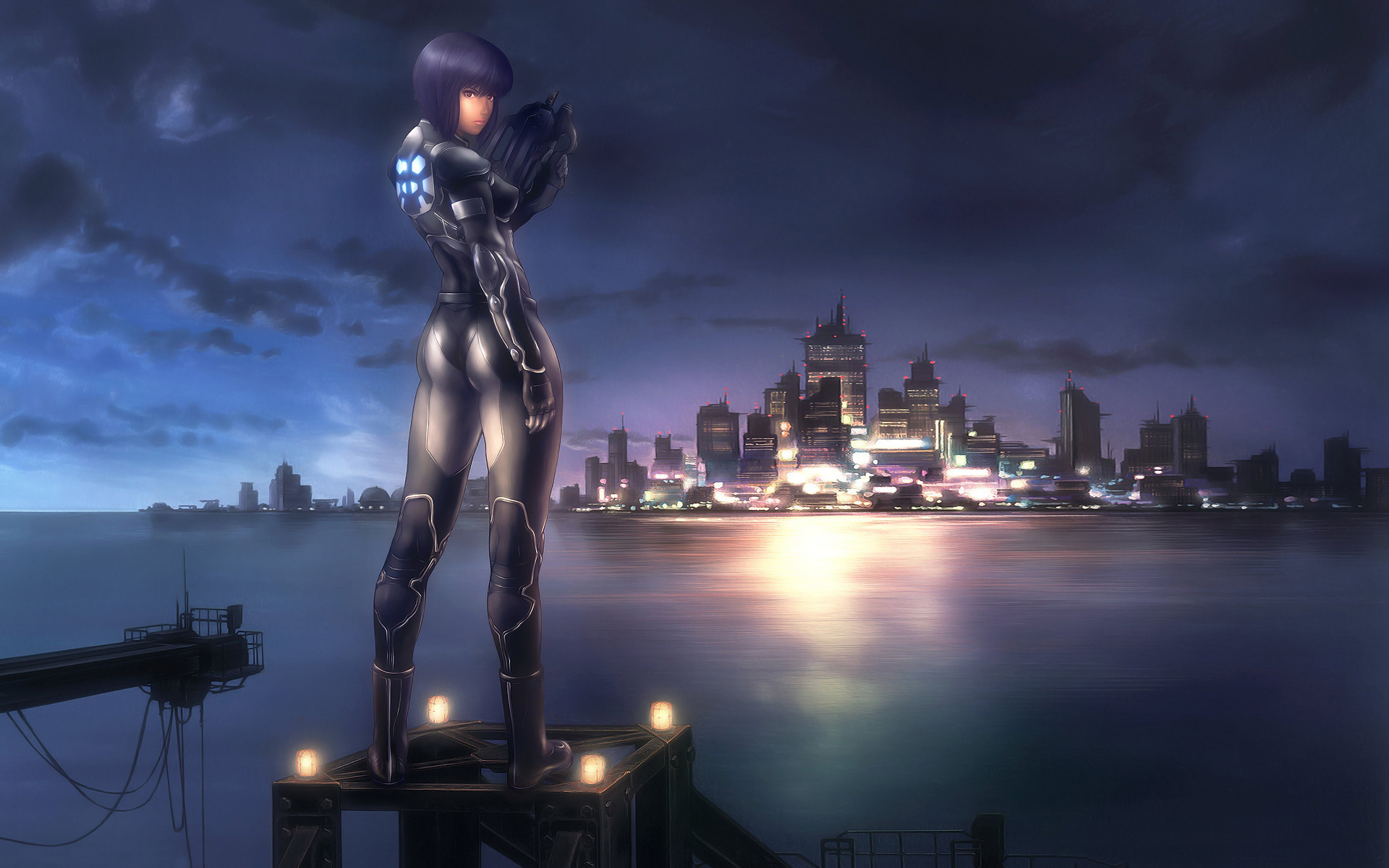 Ghost In The Shell Hd Wallpaper Posted By Ryan Johnson