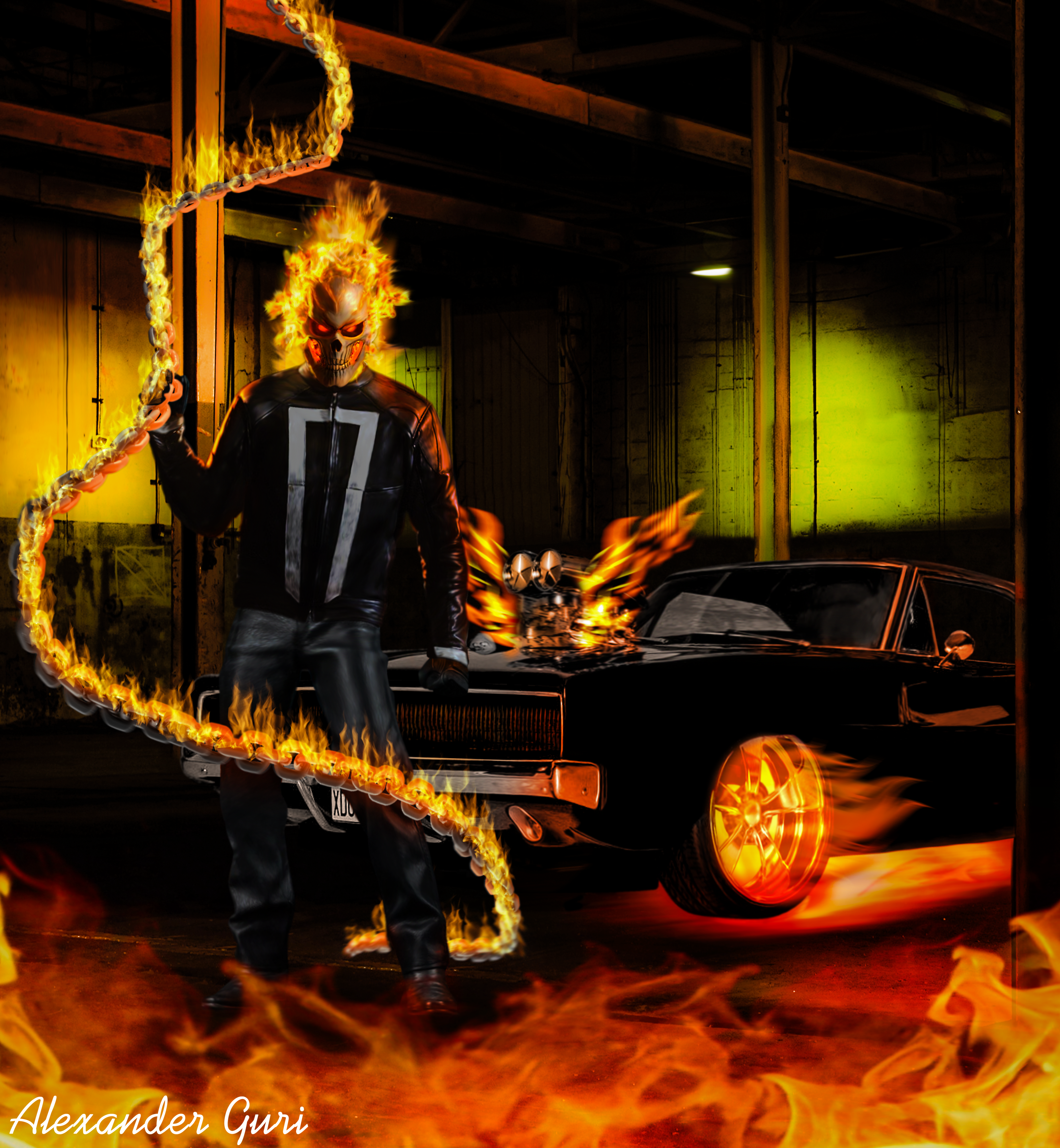Ghost Rider Agents Of Shield Wallpaper Posted By John Sellers
