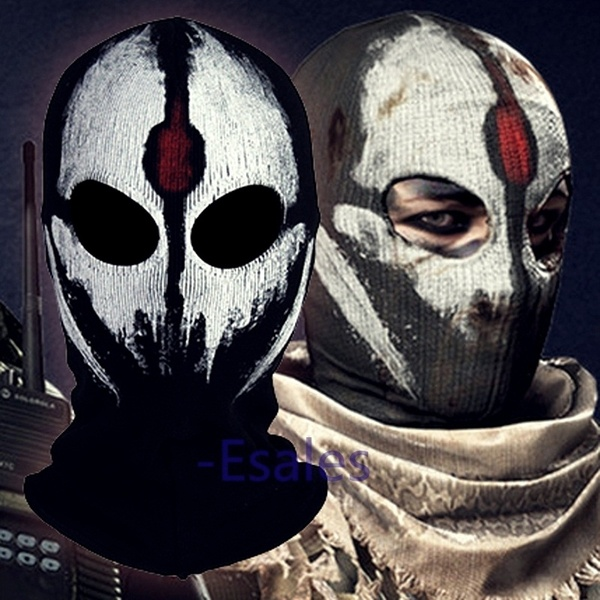 call of duty modern warfare ghost mask