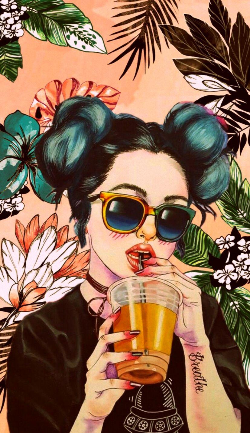 Girl Wallpaper For Iphone