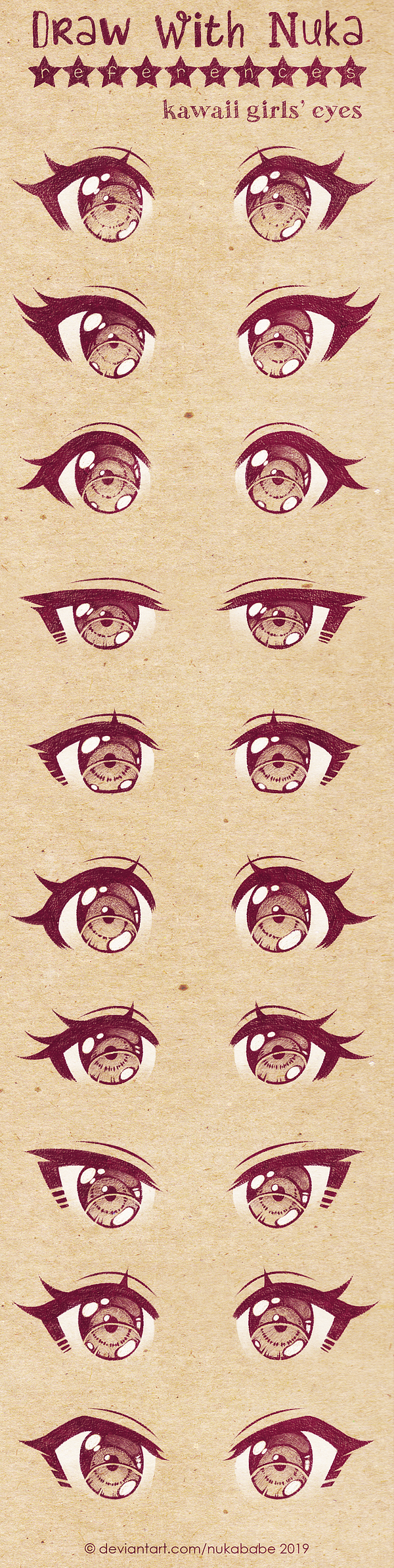 Girls Anime Eyes Posted By Sarah Thompson