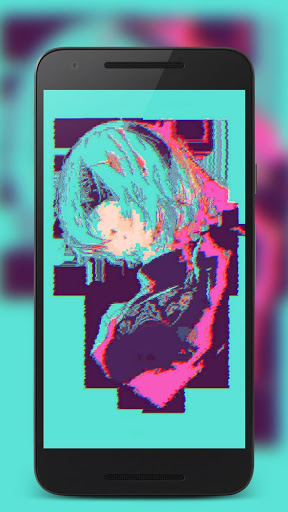Glitch Aesthetic Wallpaper Posted By John Cunningham