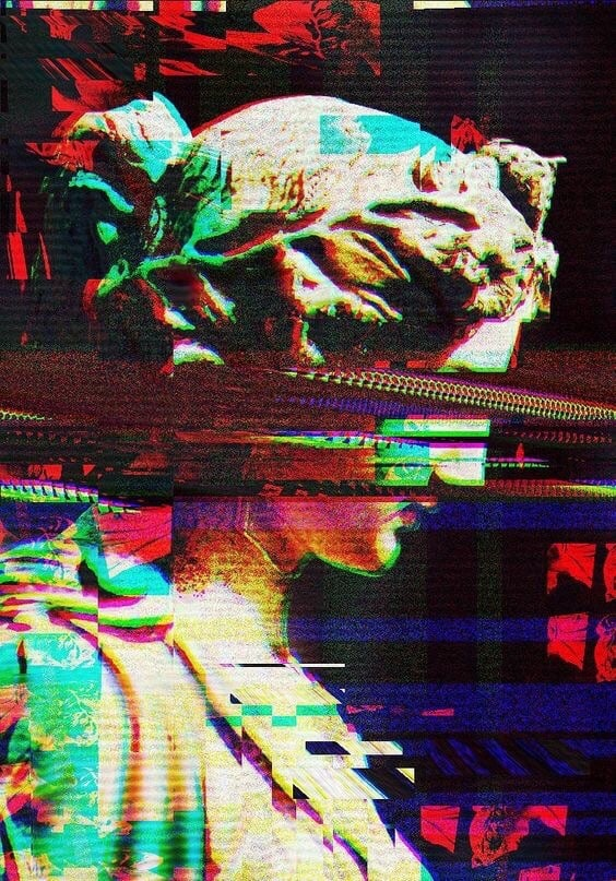 Glitch Aesthetic Wallpaper Posted By Ethan Thompson