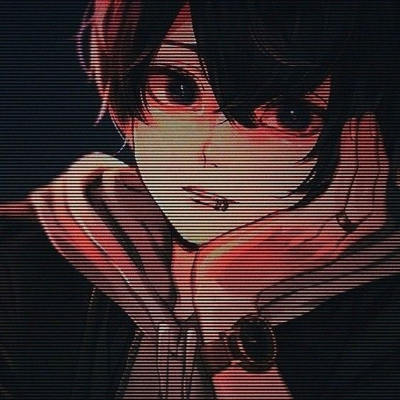 Glitch Anime Boy Posted By Christopher Simpson
