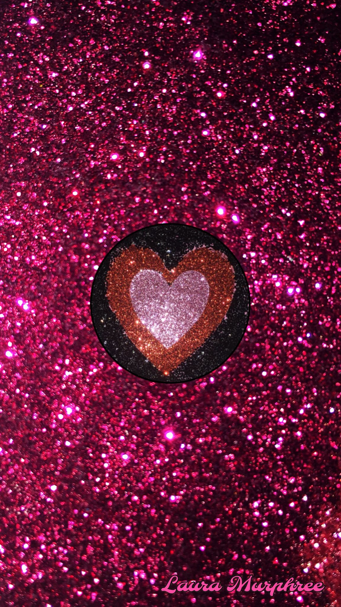 Pink Glitter Phone Wallpaper 76+ images