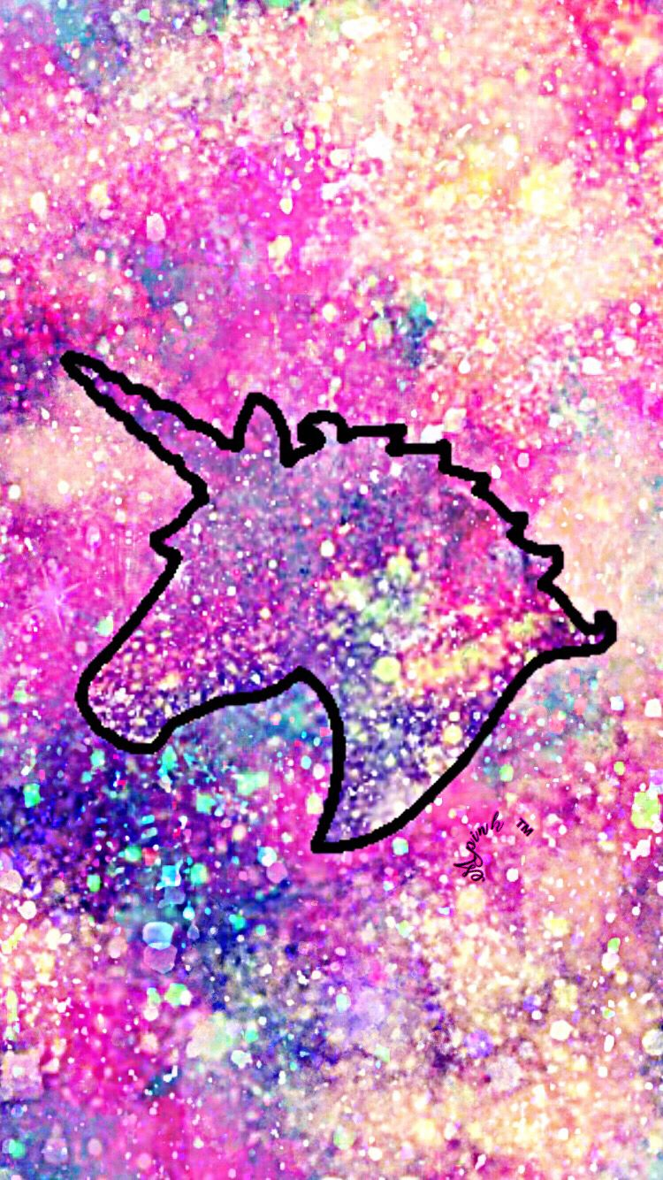 Best of Glitter Unicorn Wallpaper For Girls cute and girly