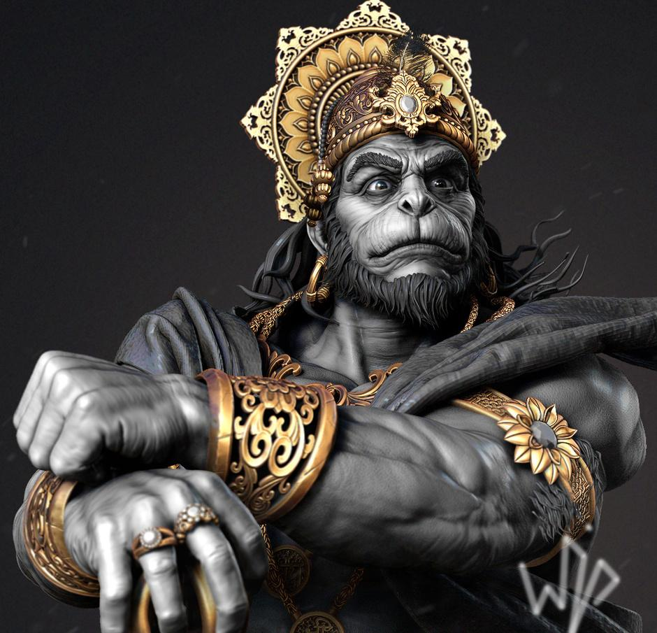 Stunning Lord Hanuman Wallpapers 3d images For Free Download