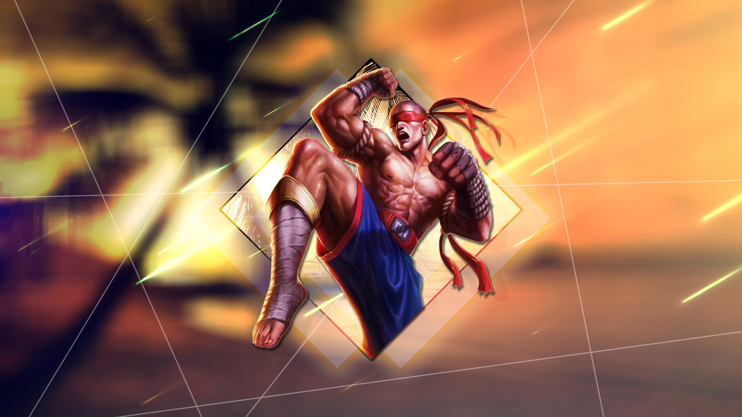 God Fist Lee Sin Wallpaper Posted By Ryan Cunningham
