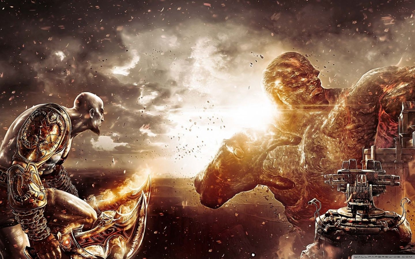God Of War Desktop Wallpaper Posted By Michelle Anderson